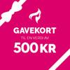 Gavekort – 500,-