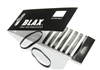 Blax Snag Free Hair Elastics Sorte  8stk