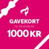 Gavekort – 1000,-