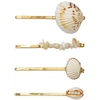 Just D'Lux Hairpin Sea Shell 03 Gold