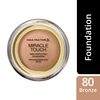 Max Factor Miracle Touch Foundation #80 Bronze 11,2g