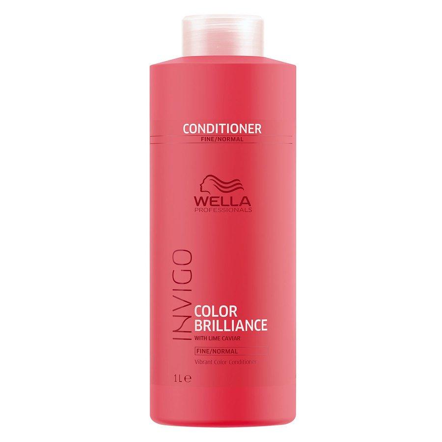 Wella Professionals Invigo Color Brilliance Conditioner Fine Hair 1000ml