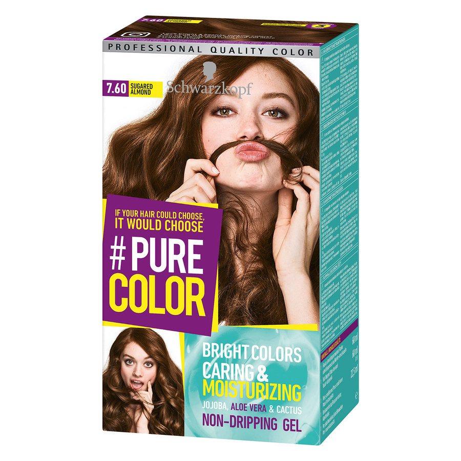 Schwarzkopf Pure Color 7.60 Sugared Almond 142g
