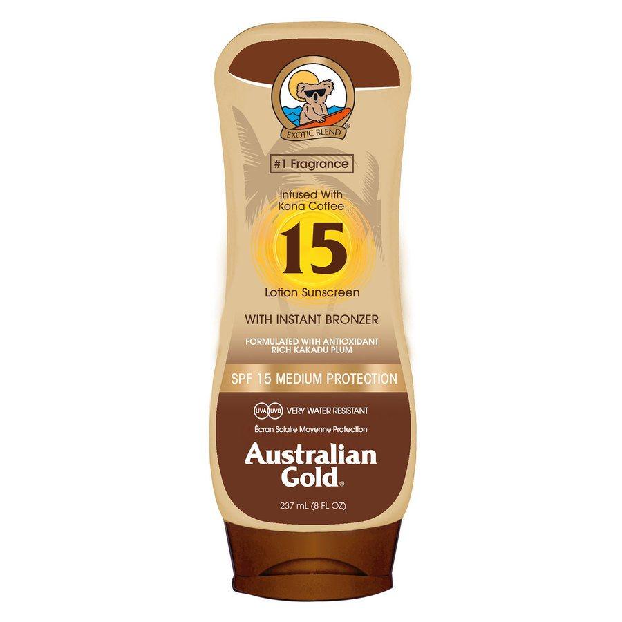 Australian Gold SPF 15 Lotion Bronzer 237ml