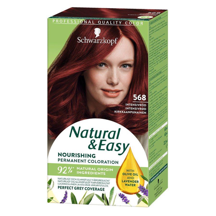 Schwarzkopf Natural & Easy 568 Intensive Red