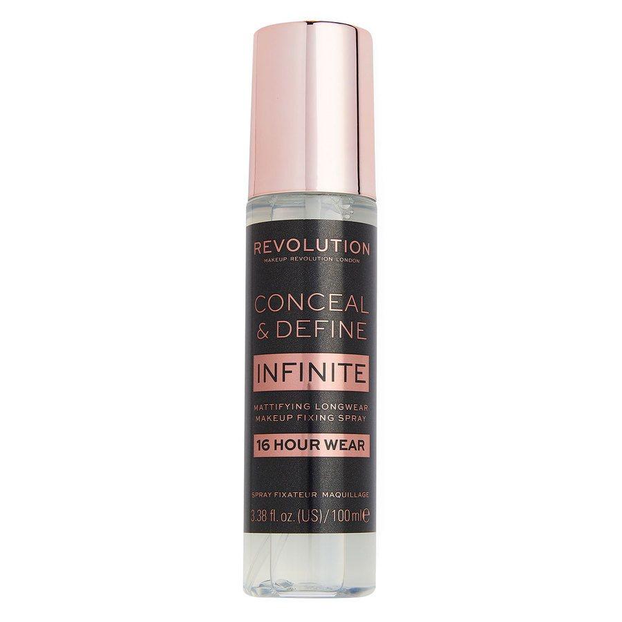 Makeup Revolution Conceal & Define Infinite Fixing Spray 100ml