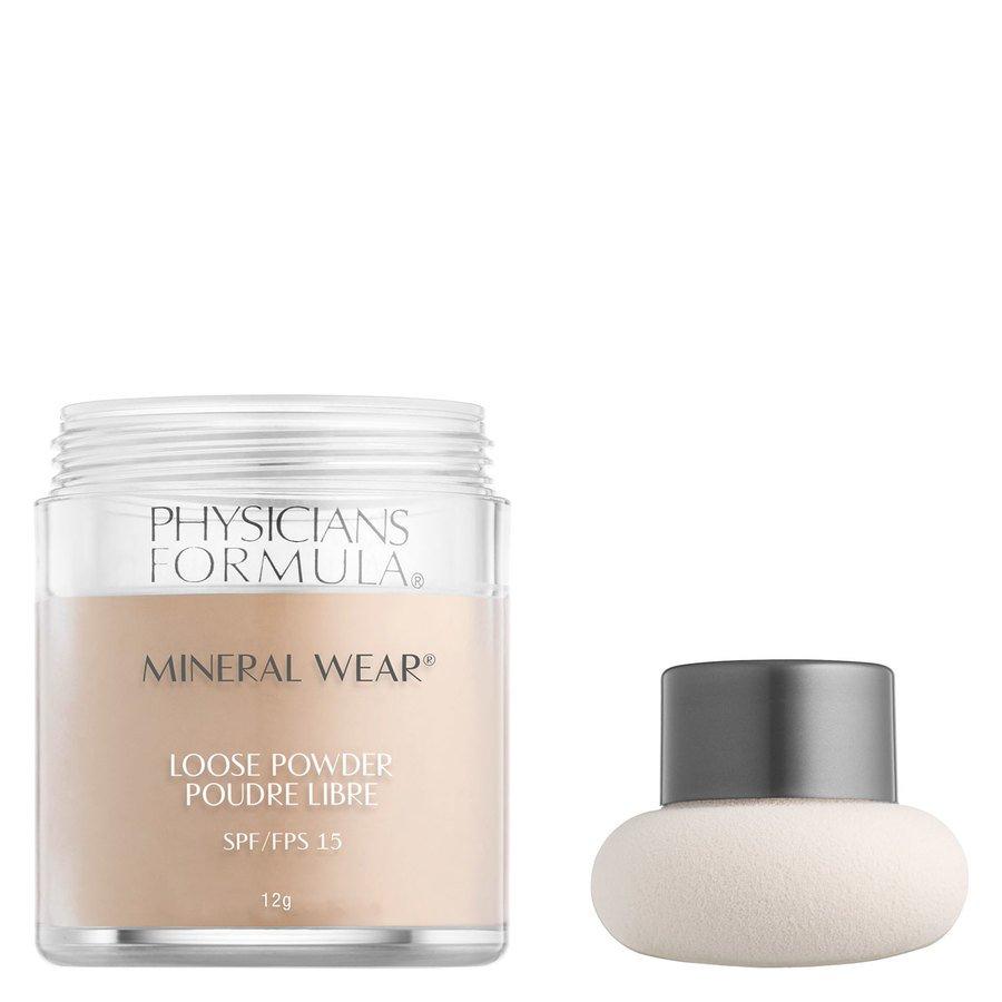 Physicians Formula Mineral Wear® Loose Powder SPF15 Translucent Light 12g