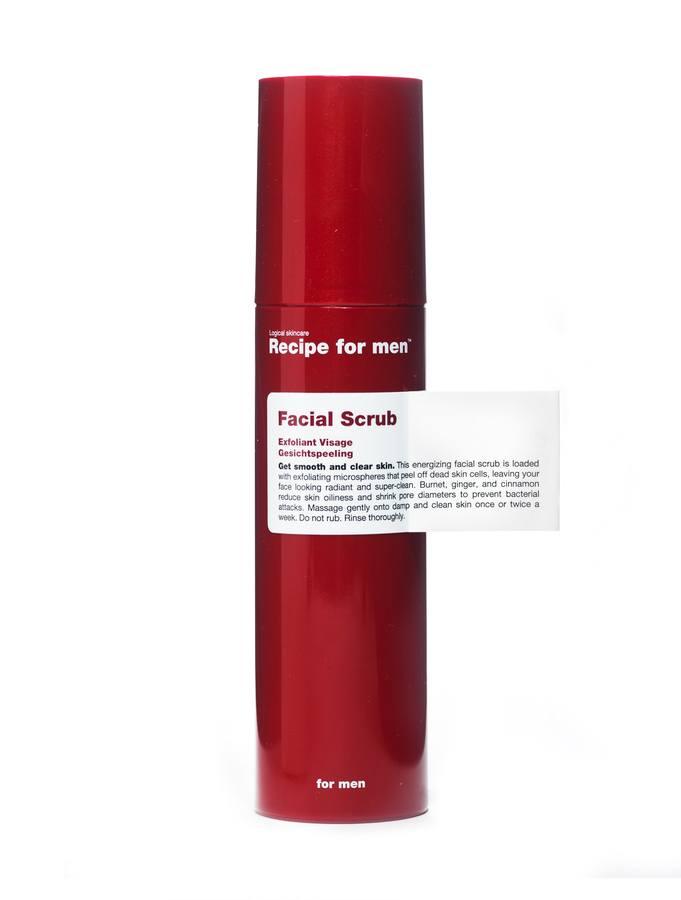 Recipe For Men Facial Scrub 100ml