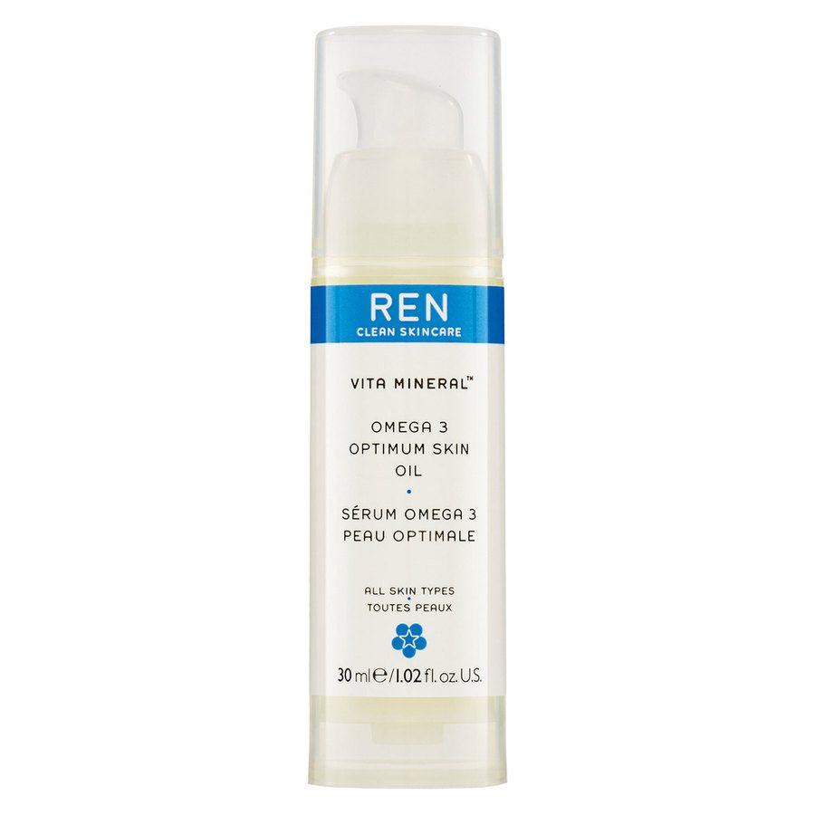 REN Clean Skincare Vita Mineral Omega 3 Optimum Skin Serum Oil 30ml