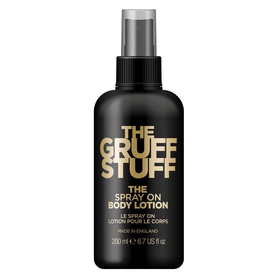 The Gruff Stuff The Spray On Body Lotion 200ml
