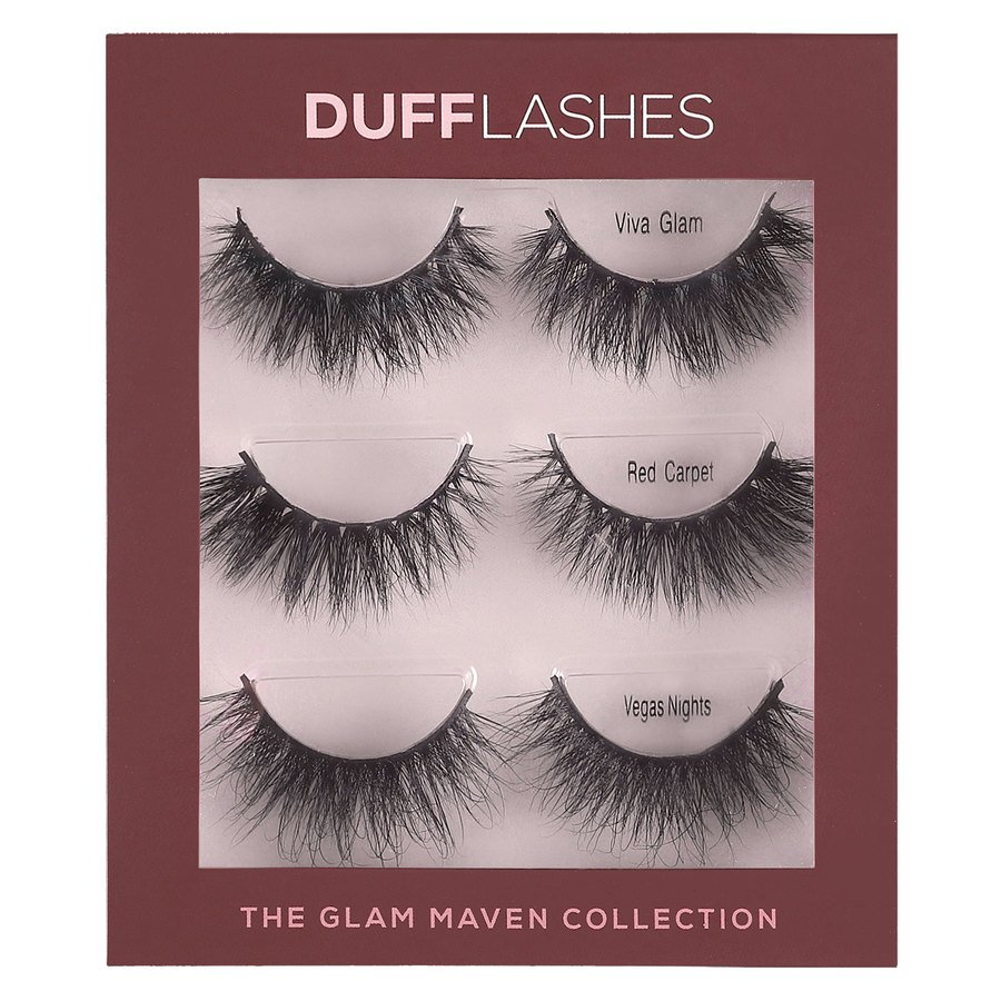 DUFFLashes The Glam Maven Collection 3pair