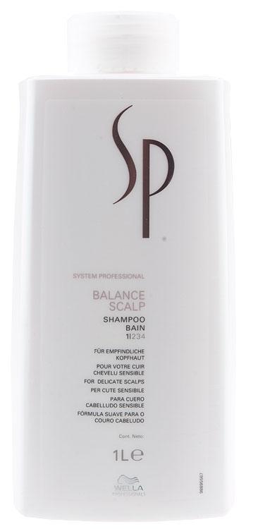 Wella Sp Balance Scalp Shampoo 1000ml
