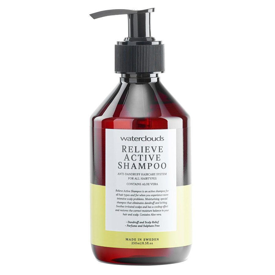 Waterclouds Relieve Active Climbazole Shampoo 250ml