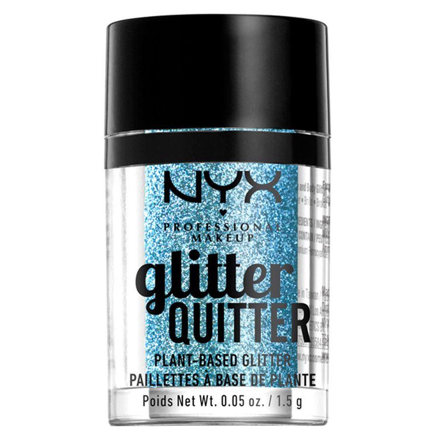 NYX Professional Makeup Glitter Quitter Plant Based Glitter Blue 1,5g