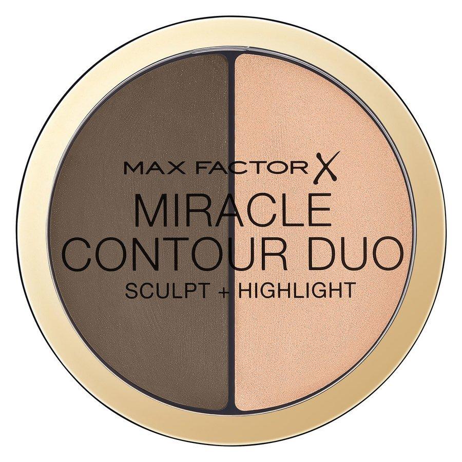 Max Factor Miracle Contour Duo Medium/Deep 8g