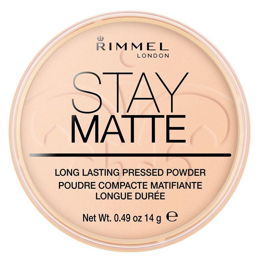 Rimmel London Stay Matte Pressed Face Powder #006 Warm Beige 14g