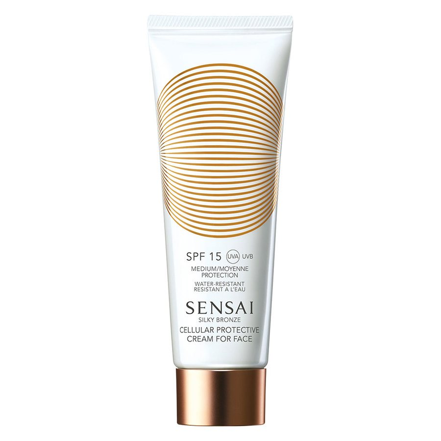 Sensai Silky Bronze Cellular Protective Cream For Face SPF15 50ml
