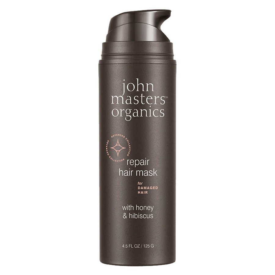 John Masters Organics Repair Hair Mask For Damaged Hair With Honey & Hibiscus 125g