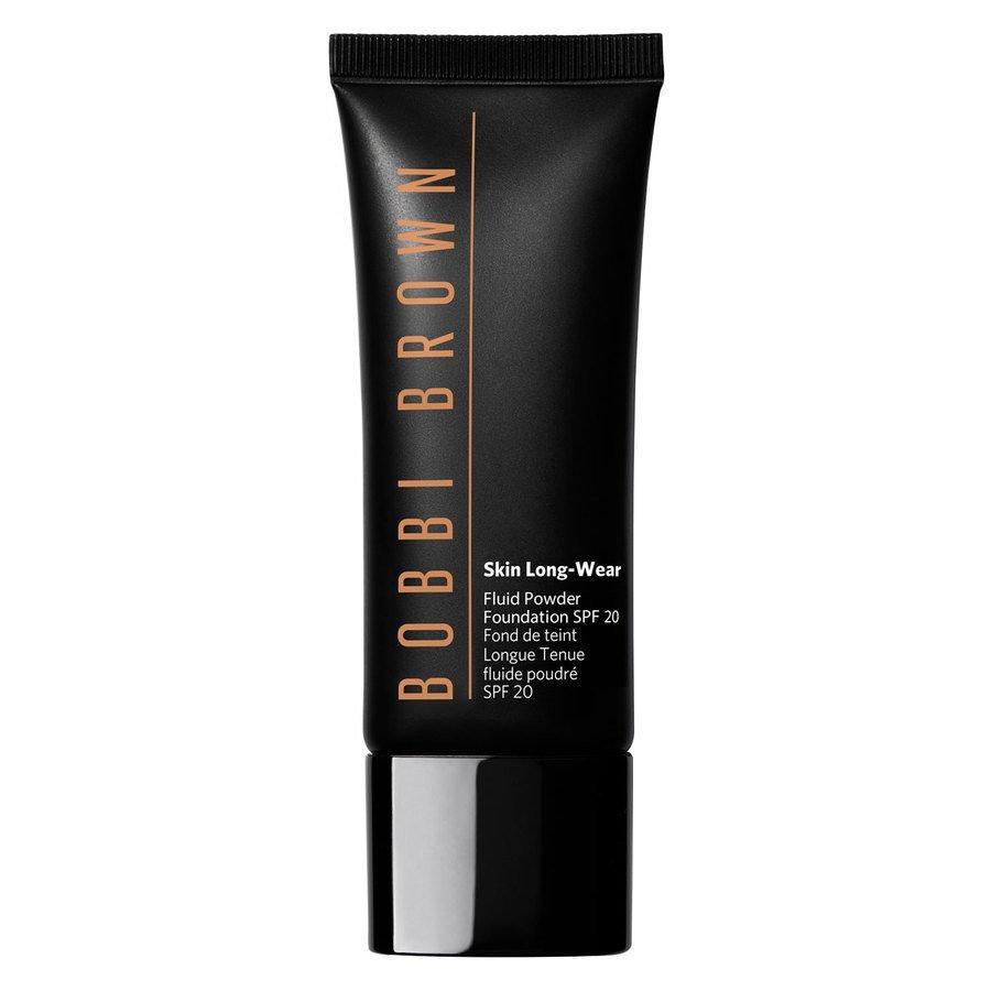 Bobbi Brown Skin Long-Wear Fluid Powder Foundation SPF20 Warm Almond 40ml