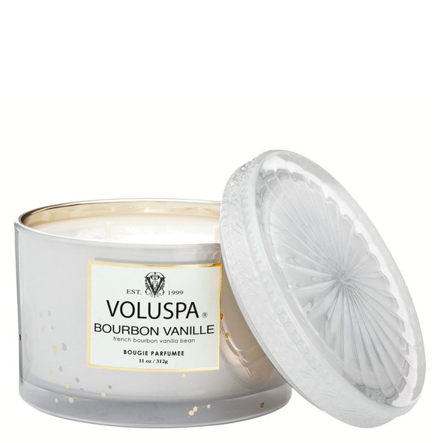 Voluspa Boxed Corta Maison Glass Candle Bourbon Vanille 312g