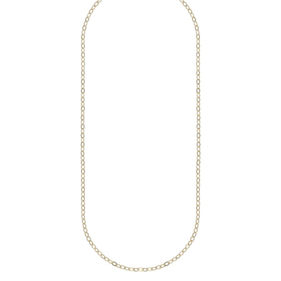Snö Of Sweden Chase True Small Necklace 50 Plain Gold