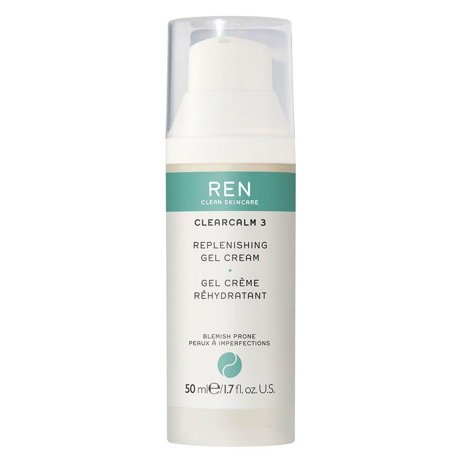 REN Clean Skincare Clearcalm 3 Replenishing Gel Cream 50ml