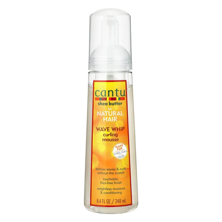 Cantu Shea Butter For Natural Hair Wave Whip Curling Mousse 248ml