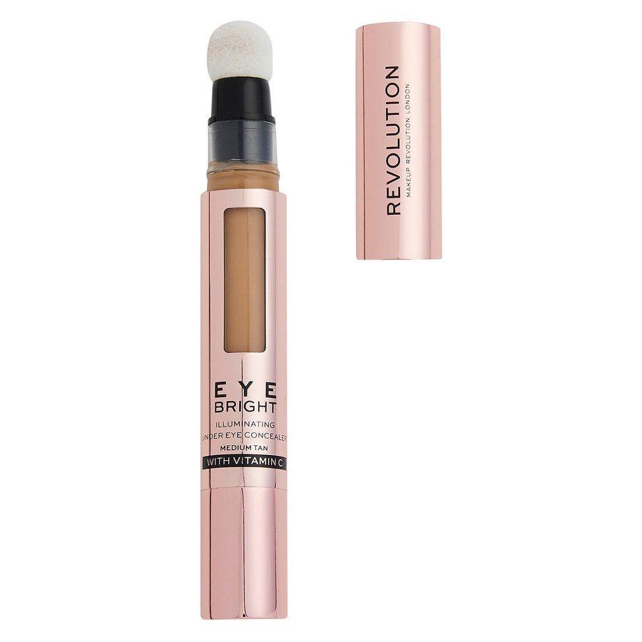 Revolution Beauty Makeup Revolution Eye Bright Illuminating Under Eye Concealer Deep Tan 2,9ml
