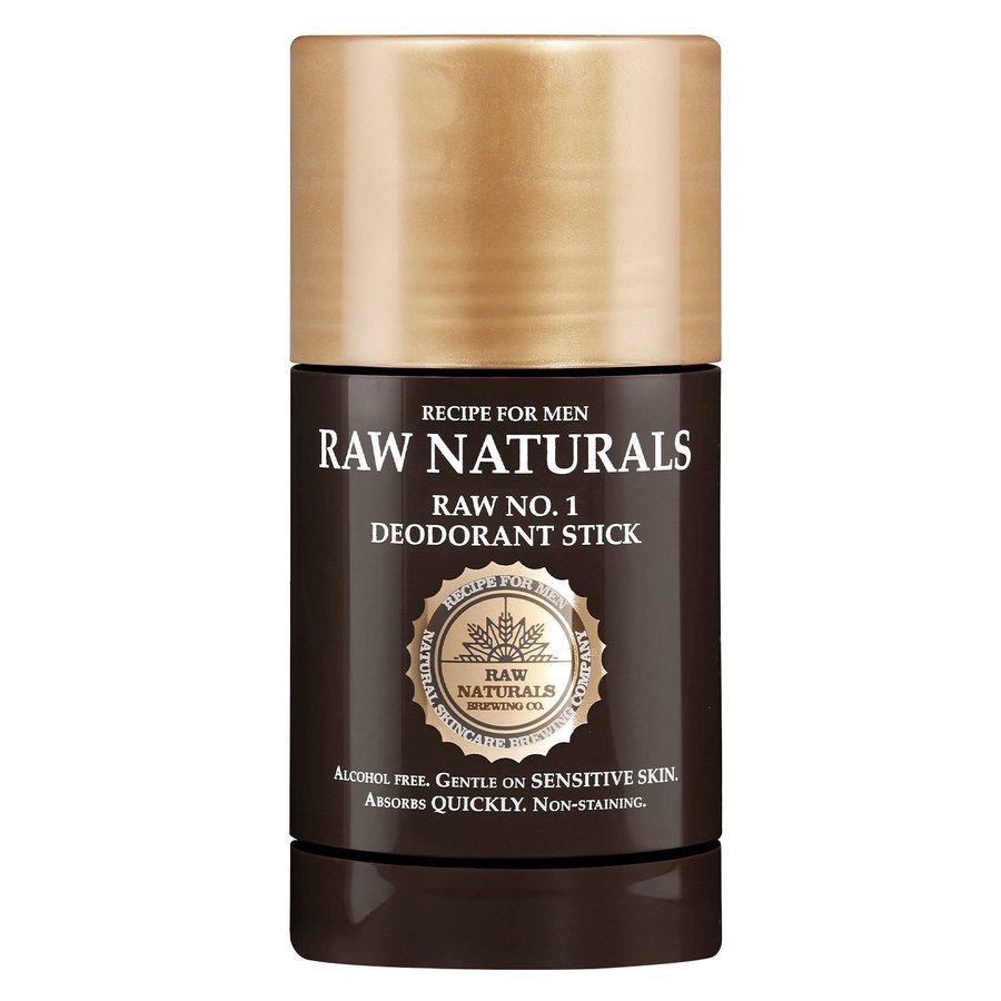 Raw Naturals Raw No. 1 Deodorant Stick 75ml