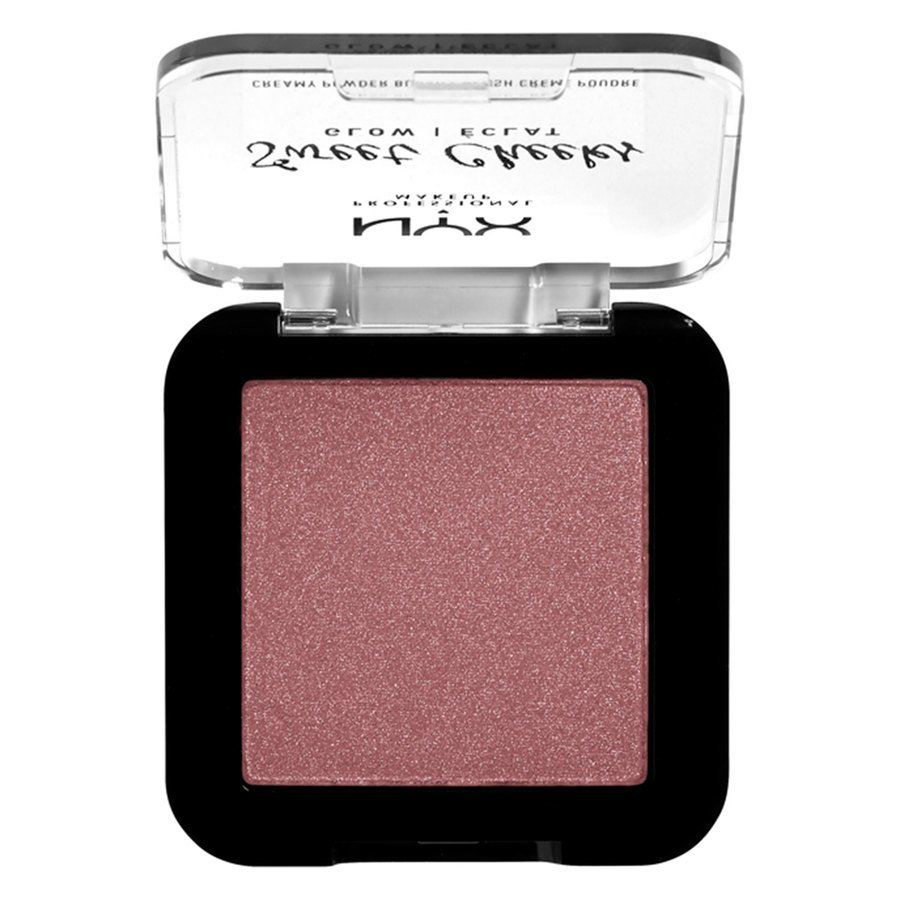 NYX Professional Makeup Sweet Cheeks Creamy Powder Blush Glowy Fig 5g