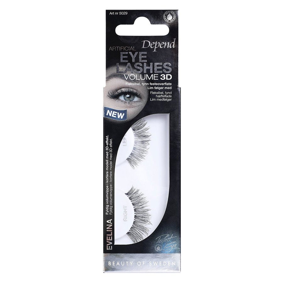 Depend Artificial Eyelashes Volume 3D Evelina