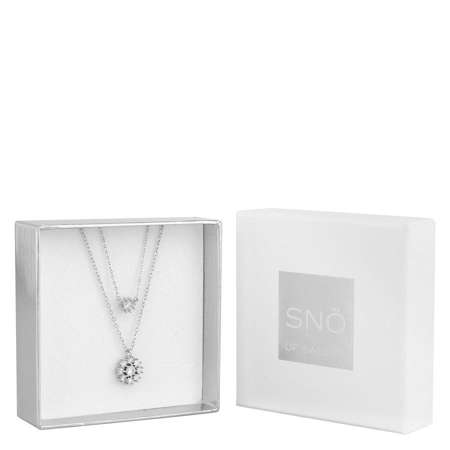 SNÖ of Sweden Crystal Vintage Neck Set 1 Silver/Clear