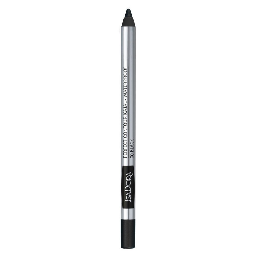 IsaDora Perfect Contour Kajal Waterproof #60 Black 1,3g
