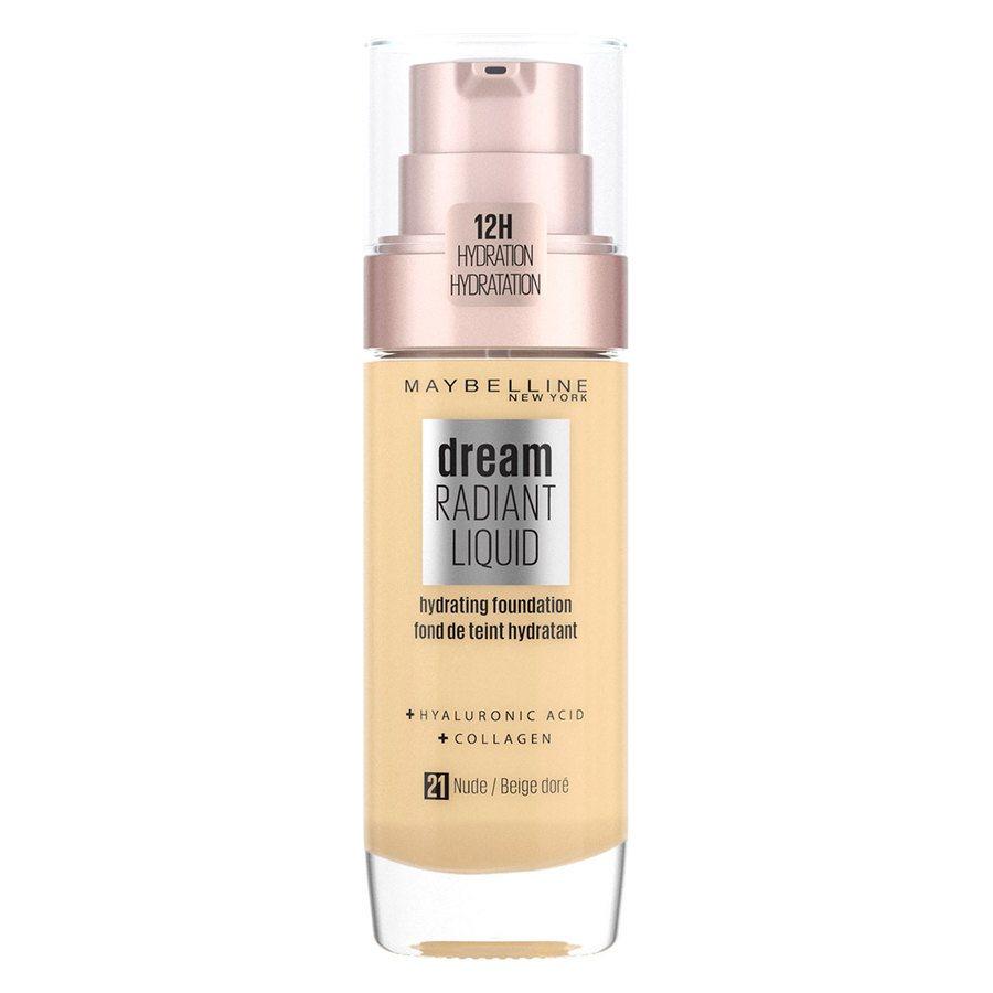 Maybelline Dream Radiant Liquid Foundation #21 Nude 30ml