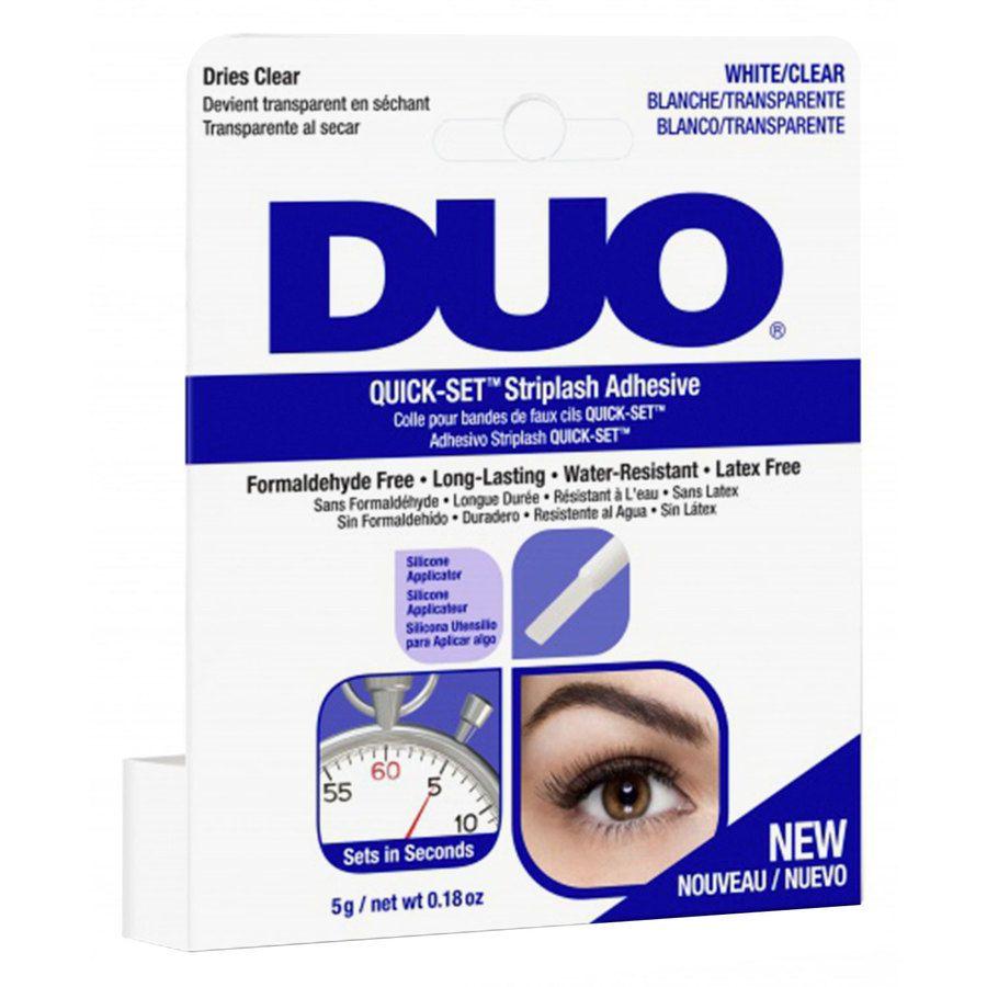 Duo Quick Set Adhesive Brush Clear 5g