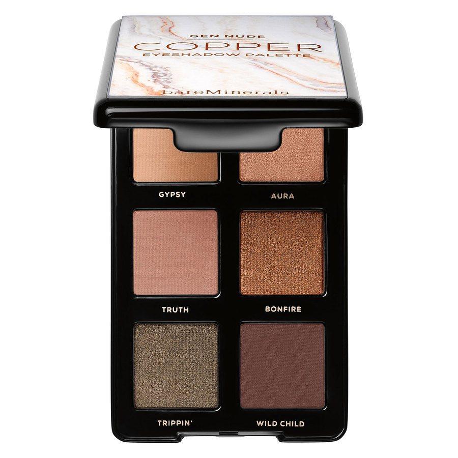 BareMinerals Gen Nude Eyeshadow Palettes Medium To Tan 6x1,1g