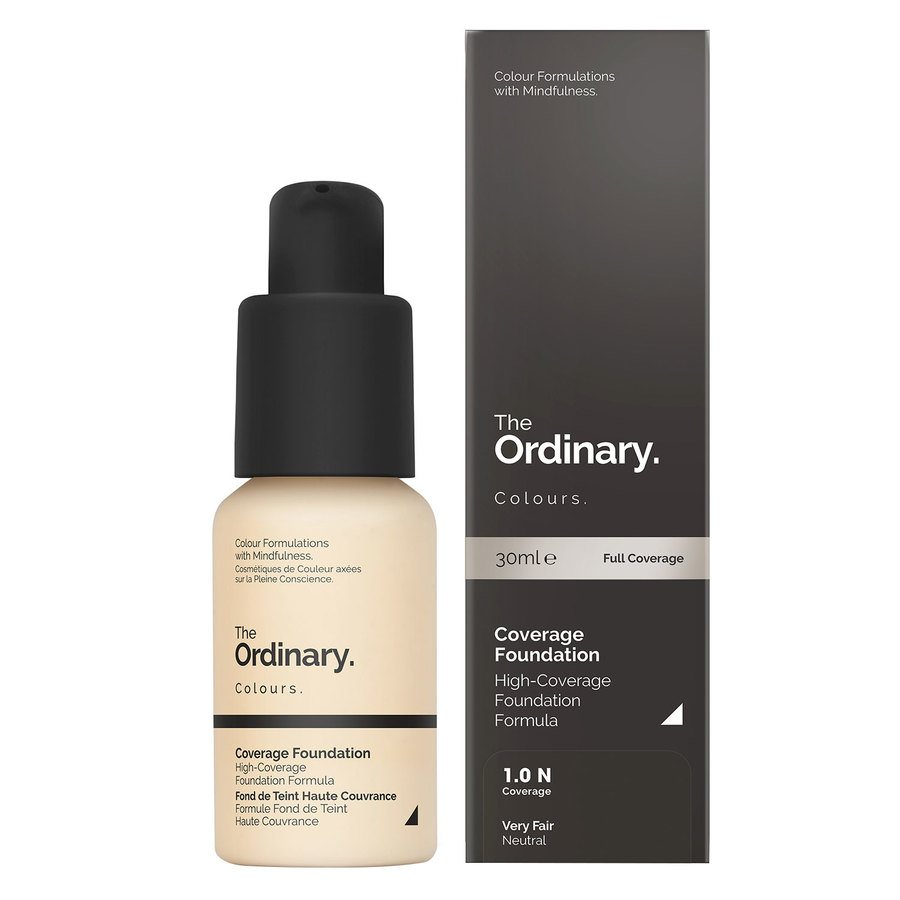 The Ordinary Coverage Foundation 1.0 N Very Fair Neutral 30ml