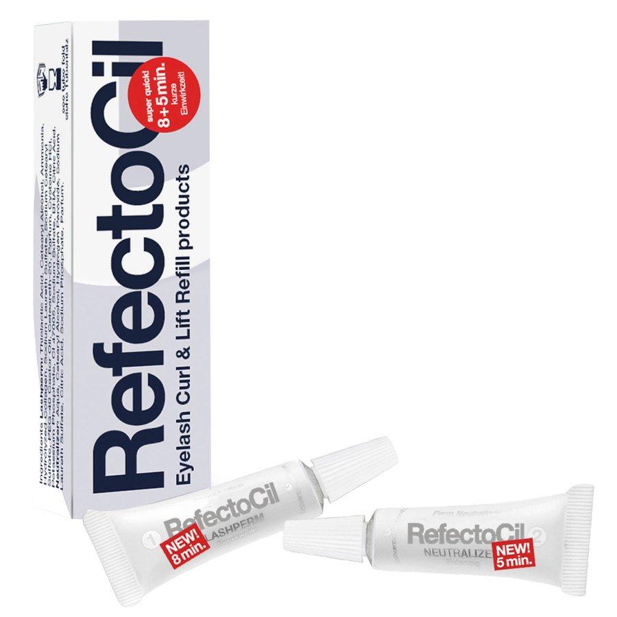 RefectoCil EyeLash Curl & Eyelash Lift Refill Perm/Neutralizer 2x3,5ml