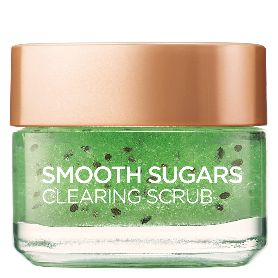 L'Oréal Paris Smooth Sugar Scrub Clearing Kiwi 50ml