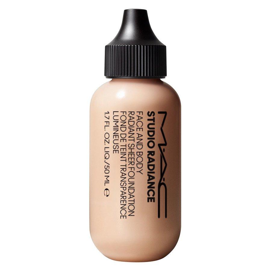 MAC Cosmetics Studio Radiance Face And Body Radiant Sheer Foundation W1 50ml
