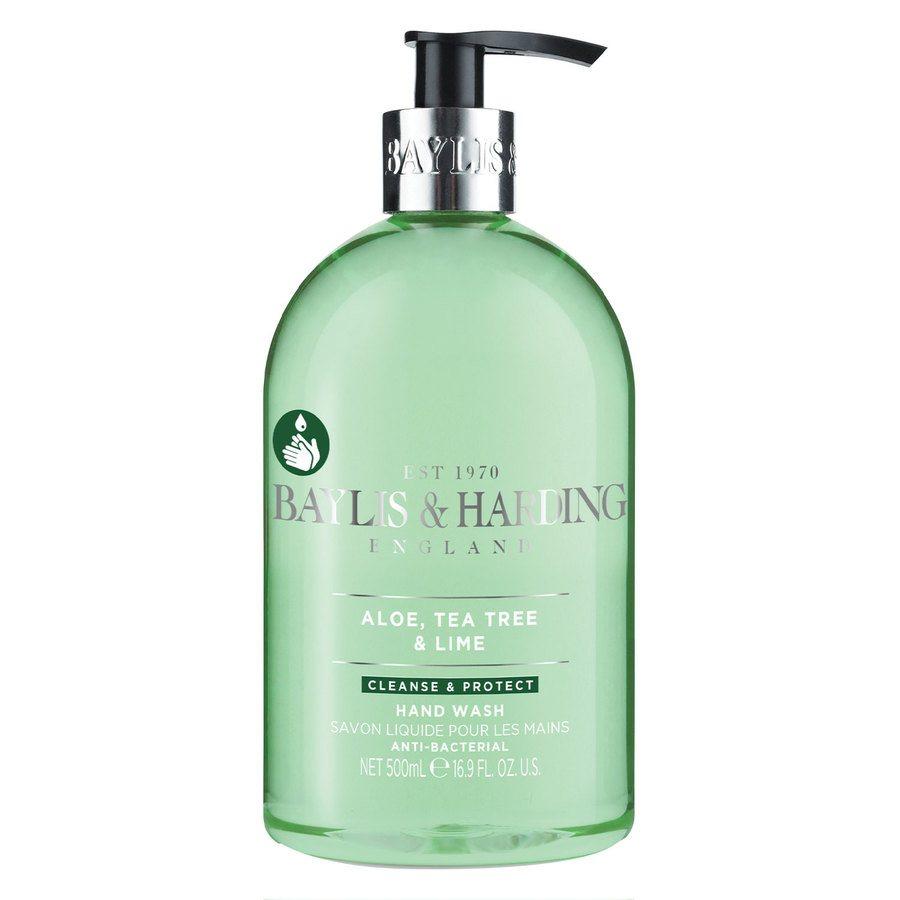 Baylis & Harding Aloe, Tea Tree & Lime Anti-Bacterial Hand Wash 500ml