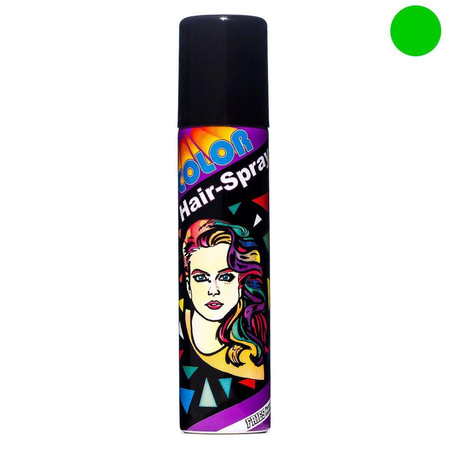 Bravehead Fries Color Hair-Spray Green 100ml