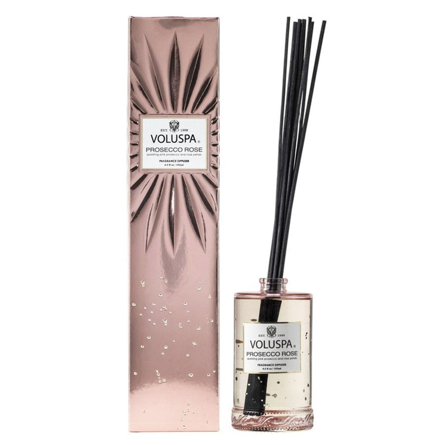 Voluspa Fragrant Oil Diffuser Prosecco Rose 192ml