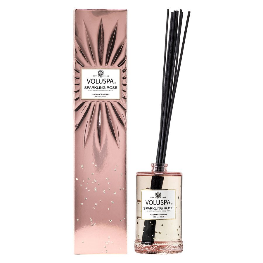 Voluspa Fragrant Oil Diffuser Sparkling Rose 192ml