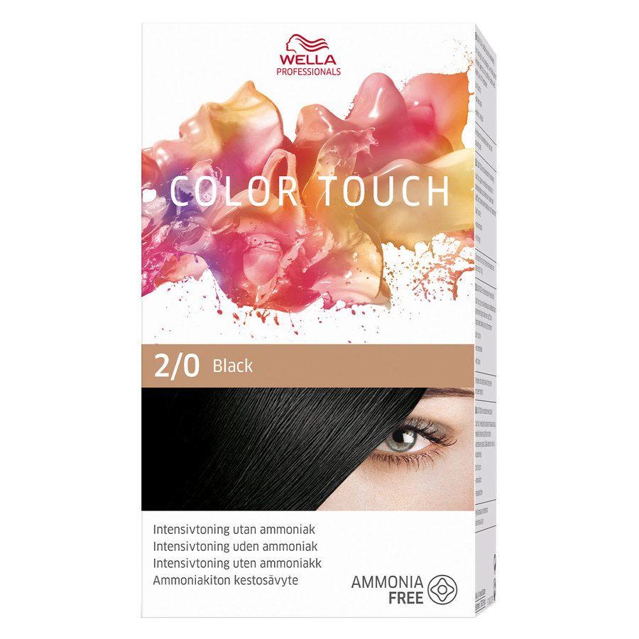Wella Professionals Color Touch 2/0 Black
