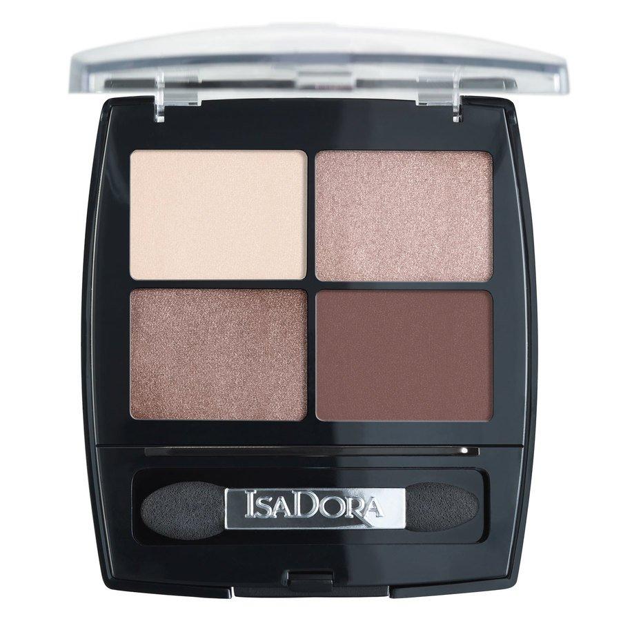 IsaDora Eyeshadow Quartet #51 Cappucino 5g