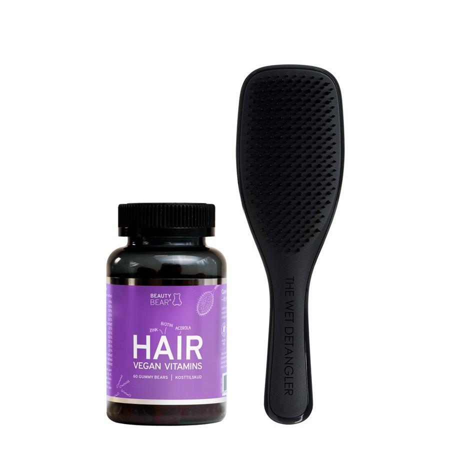 Bundle Deal Beauty Bear Vitamins, Tangle Teezer