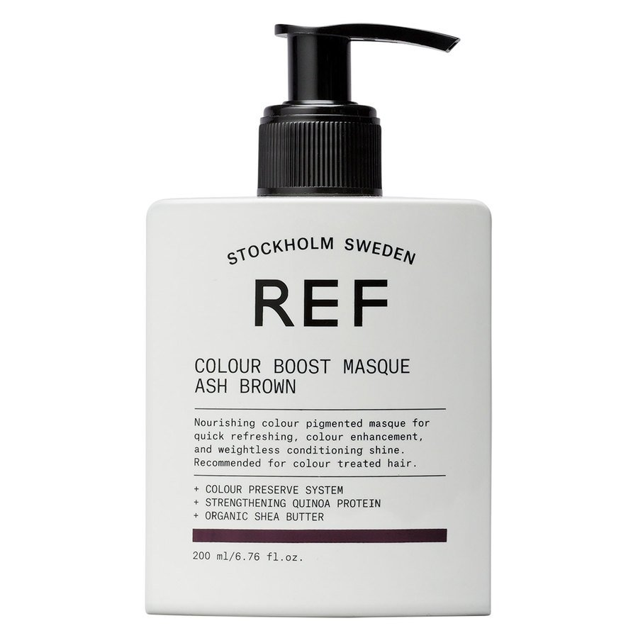 REF Colour Boost Masque Ash Brown 200ml