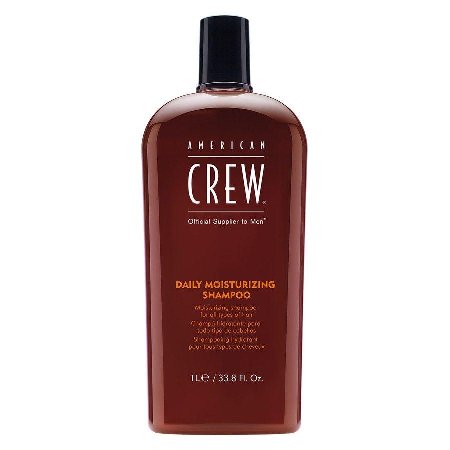 American Crew Daily Moisturizing Shampoo Herre 1000ml