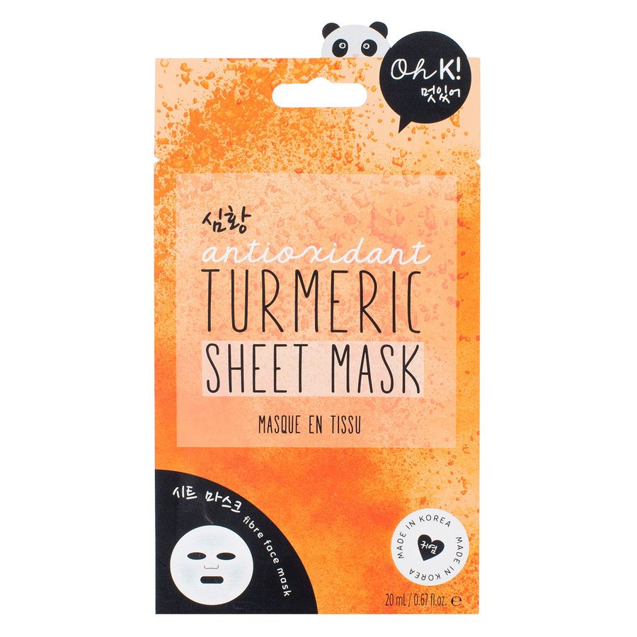 Oh K! Turmeric Sheet Mask 20ml